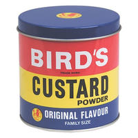 Bird's Custard Powder Small Tin Canister
