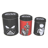 Star Wars Set of 3 Tin Canisters