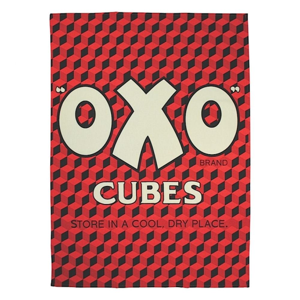 oxo cubes 100 baumwolle geschirrtuch retro k che geschirrtuch rindfleisch stock gravy opie. Black Bedroom Furniture Sets. Home Design Ideas