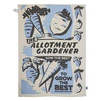 The Allotment Gardener Tea Towel In A Tube