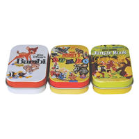 Disney Film Posters Set Of 3 Pill Tins (Bambi, Jungle Book, Dumbo)