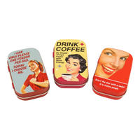 Office Humour Set Of 3 Pill Tins