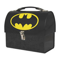 Batman Logo Domed Tin Tote