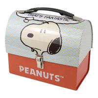"Peanuts ""That's Fantastic"" Domed Tin Tote"