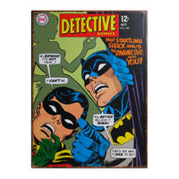 Batman Detective Large Steel Sign