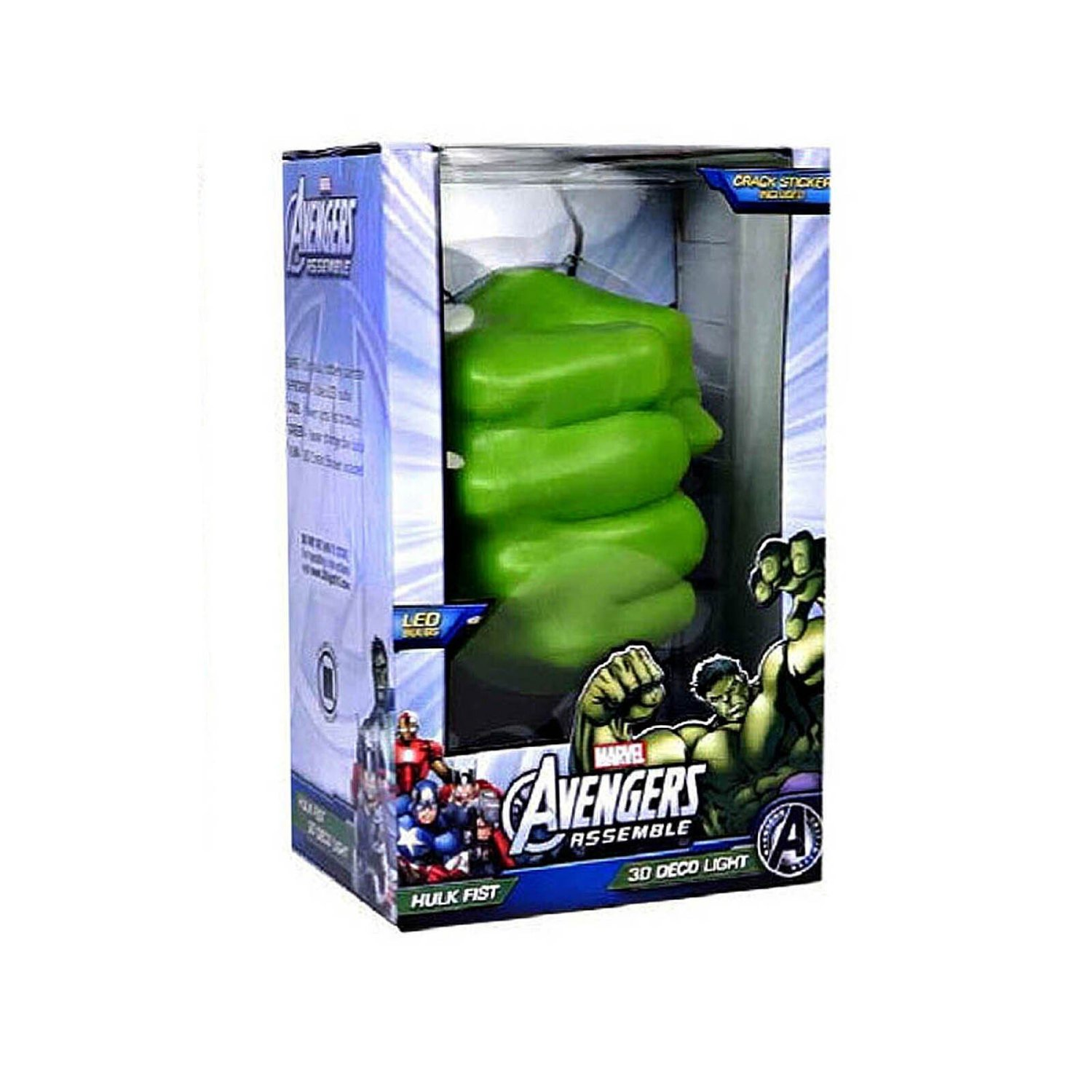 Marvel Wall Lights Hulk : HULK FIST 3D LIGHT FX DECO LED WALL NIGHTLIGHT AVENGERS MARVEL OFFICIAL KIDS eBay