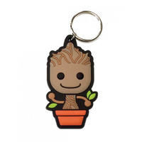 Guardians Of The Galaxy Baby Groot Rubber Keyring Thumbnail 1
