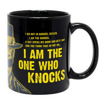 "Breaking Bad ""I Am The One Who Knocks"" Heat Change Mug"