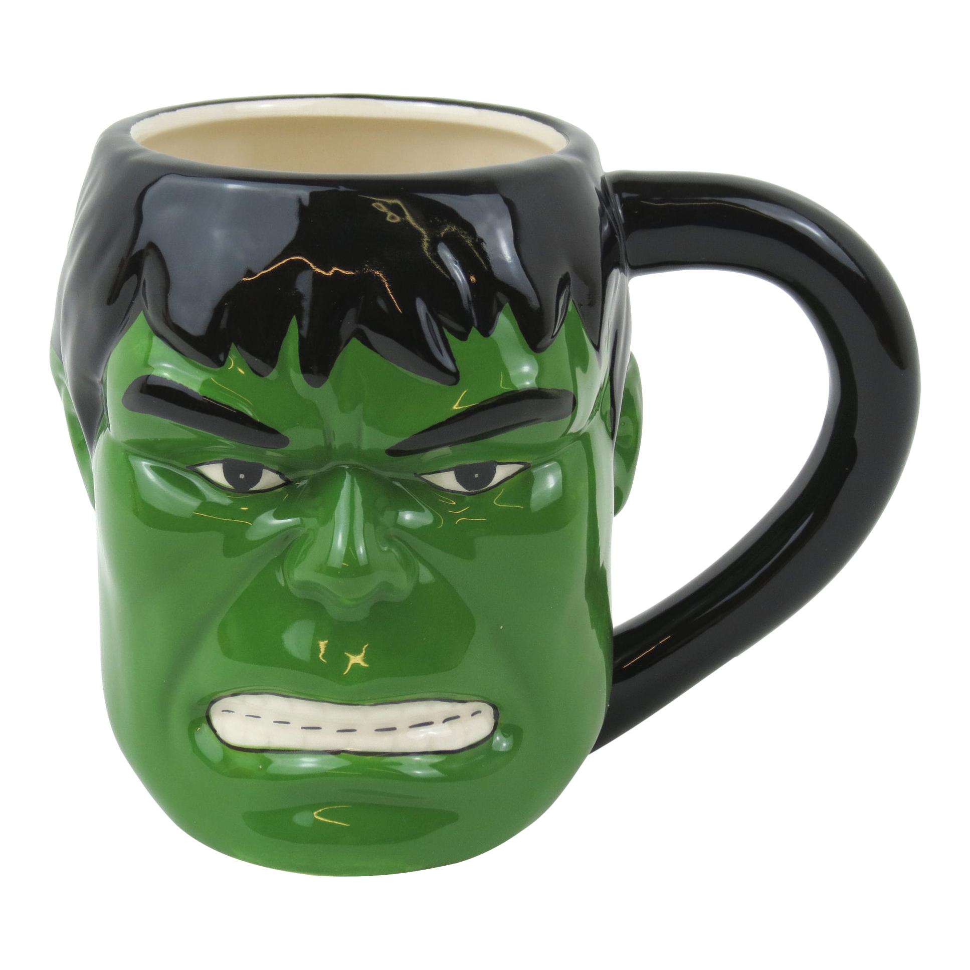 Hulk 3d Shaped Mug Standard Kitschagogo