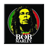 Bob Marley Logo Face Fridge Magnet