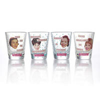 Bev Ridge & Friends Set of 4 Shot Glasses Thumbnail 1