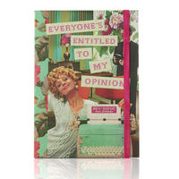 "Bev Ridge & Friends ""Everyone's Entitled To My Opinion"" A5 Notebook"