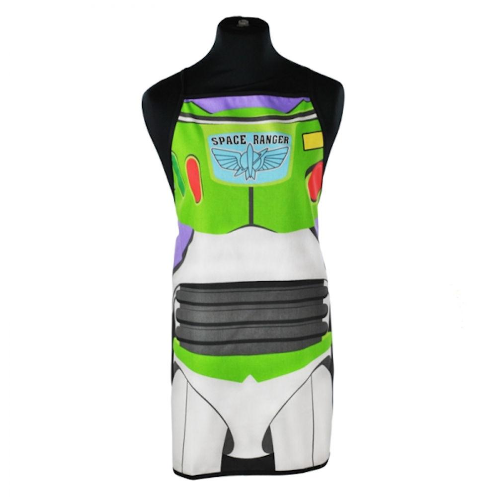White pinafore apron ebay - Adult Size Buzz Lightyear Cotton Apron In A Tube Disney Pixar Woody Gift Kitchen