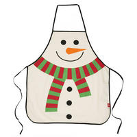 Snowman Christmas Apron In A Tube