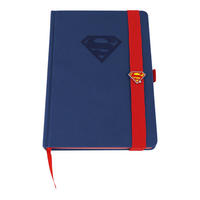 Debossed Superman Logo A5 Hardback Notebook