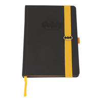 Debossed Batman Logo A5 Hardback Notebook Thumbnail 1
