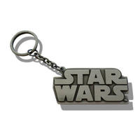 Star Wars Logo Metal Keyring
