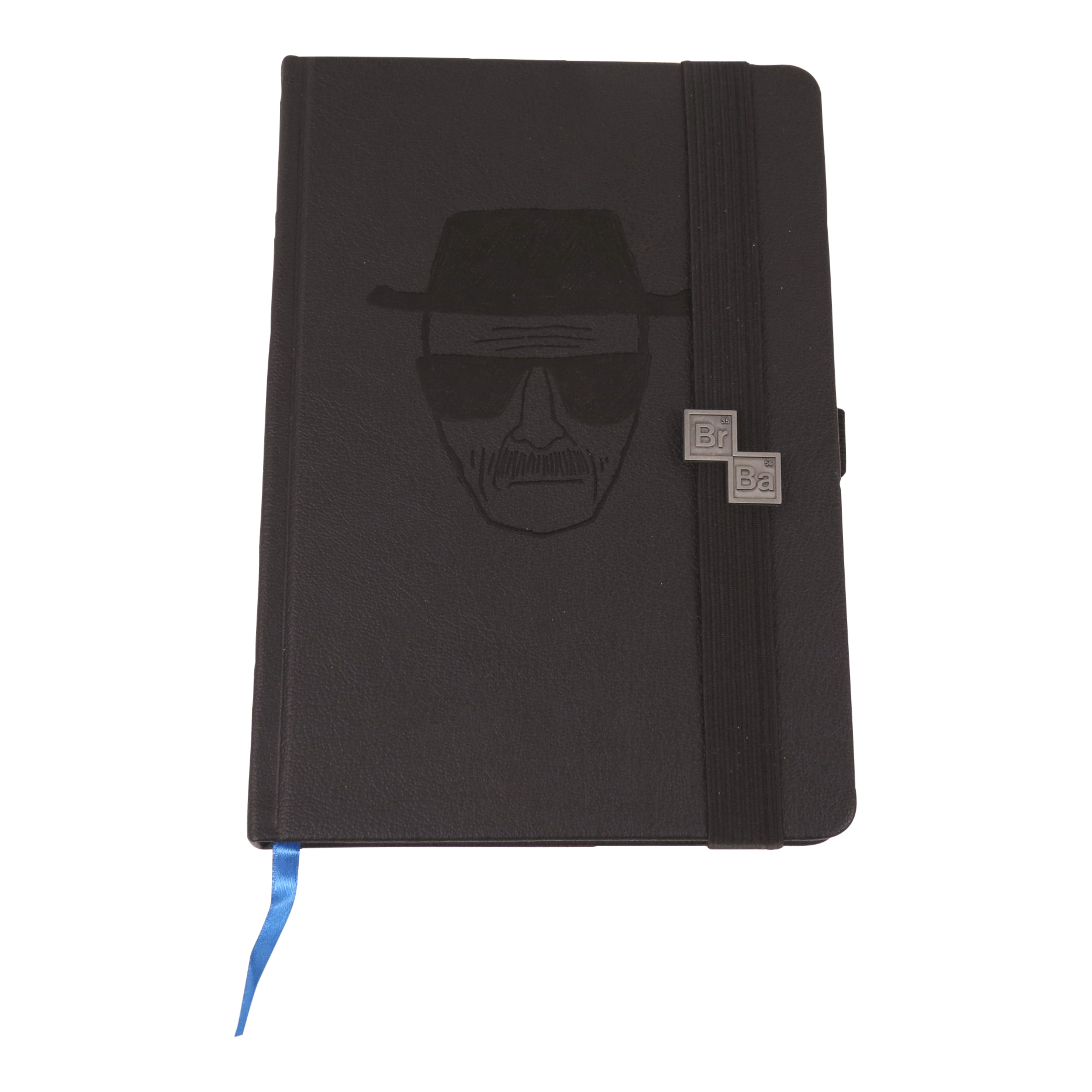 Debossed Breaking Bad Heisenberg A5 Hardback Notebook