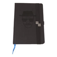 Debossed Breaking Bad Heisenberg A5 Hardback Notebook Thumbnail 1
