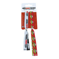Big Bang Theory Pack of 2 Festival Wristbands