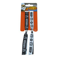 Star Wars Darth Vader / Stormtrooper Pack of 2 Festival Wristbands