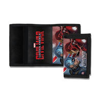 Captain America Civil War Tri Fold Wallet