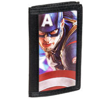 Avengers Age Of Ultron Lenticular Captain America Wallet