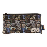 Star Wars Screen Cells Flat PU Pencil Case