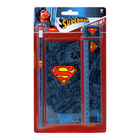 Superman Logo Stationery Set