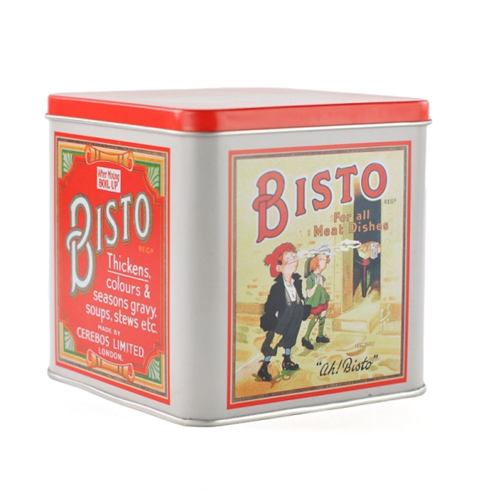 Bisto For All Meat Dishes Small Square Tin