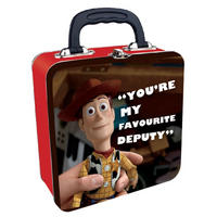 "Woody ""You're My Favourite Deputy"" Square Tin Tote"