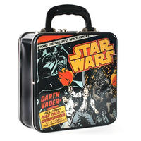 Star Wars Comic Cover Embossed Square Tin Tote