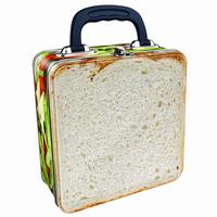 Cheese & Tomato Sandwich Tin Tote/Lunch Box