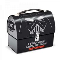 Darth Vader Domed Tin Tote