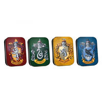 Harry Potter School House Crests Set of 4 Pill Tins