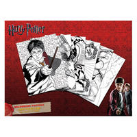6 Harry Potter Colour & Frame Posters