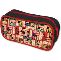 Marvel Blocks Logo Pencil Case