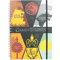 Game Of Thrones Sigils A5 Hardback Notebook
