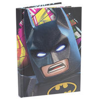 Light Up Lego Batman A5 Hardback Notebook