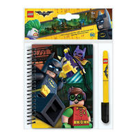 Lego Batman A6 Softback Notebook & Gel Pen