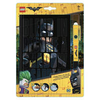 Lego Batman A5 Notebook & Invisible Ink Pen