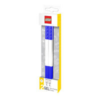 Set of 2 Blue Lego Gel Pens