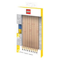 Set of 9 Lego HB Pencils