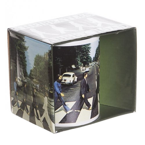The beatles abbey road mug standard kitschagogo for Abbey road salon