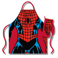 Spider-Man Apron & Oven Glove Set