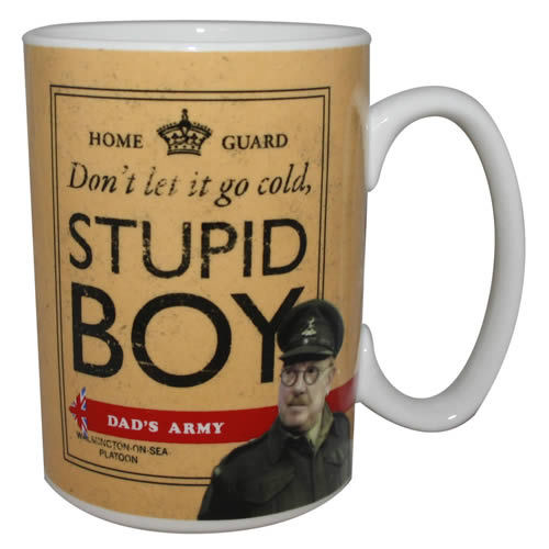 Dad's Army Stupid Boy Mug