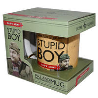 Dad's Army Stupid Boy Mug Thumbnail 2