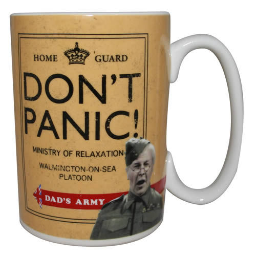 Dad's Army Don't Panic Mug