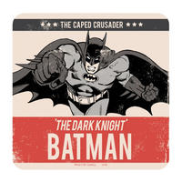 Batman The Caped Crusader Single Coaster Thumbnail 1
