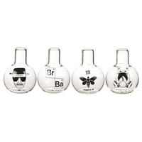 Breaking Bad Set of 4 Shot Glasses